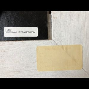 Accents - Distressed barnwood handmade frame from Laville